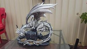 White dragon statue Monterey Rockdale Area Preview