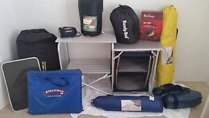 Camping equipment. Sleep bag, air beds, kitchen stand, from $10 Warnbro Rockingham Area Preview