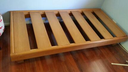 Solid wood Single bed frame - MUST GO! Jamboree Heights Brisbane South West Preview
