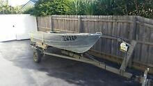 3.4 Metre tinny and trailer Warragul Baw Baw Area Preview