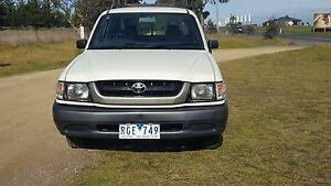 2001 Toyota Hilux Dual Cab tradies Ute Traralgon East Latrobe Valley Preview