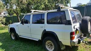 1990 Nissan Patrol GQ  lift central locking LPG 4.2 5sp manual Ryde Ryde Area Preview