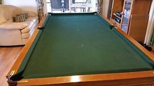 Billiard table 8' x 4'  Quality B&B slate Royal Greensborough Banyule Area Preview