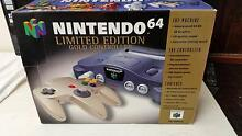 LIMTED EDITION BOXED N64 CONSOLE COMPLETE Holden Hill Tea Tree Gully Area Preview