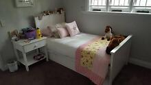 Mama's Home Windsor bed and bedside table - vgc! Graceville Brisbane South West Preview