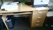 Desk and chairs and office furniture Mount Kuring-gai Hornsby Area Preview