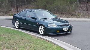 1998 Honda Civic EJ8 Coupe Cabramatta Fairfield Area Preview