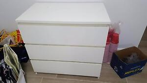 Ikea MALM Chest of 3 drawers St Peters Marrickville Area Preview
