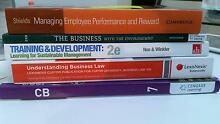 HR, Business law & Marketing text books Perth Northern Midlands Preview