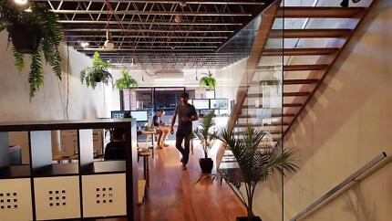 Desk in Collingwood Co-working Shared Office Space $90 p/w