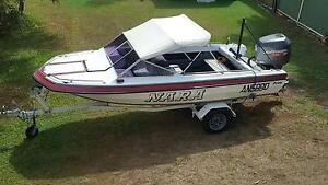 Pride Charger Ski Boat with 200hp Johnson Ocean Pro Keperra Brisbane North West Preview