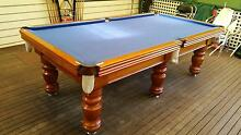 A. G. & Son Hand Crafted 8 Feet Snooker and Billiard Table Maribyrnong Maribyrnong Area Preview
