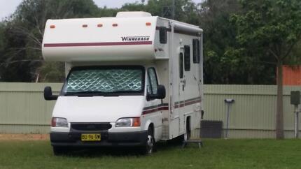 Winnebago 96 Ford Transit Diesel 6 Berth Motorhome Taree Greater Taree Area Preview