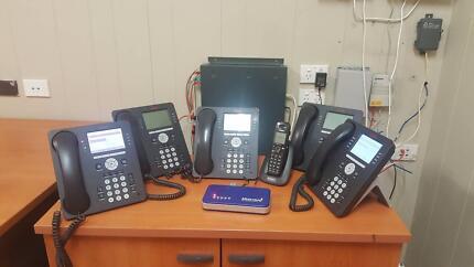 Phone system & multi-function photocopier