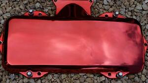 Red Chrome Plenum cover V6 Ecotec Hamley Bridge Wakefield Area Preview