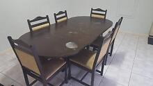 Dining table and chairs Winthrop Melville Area Preview