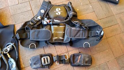 SCUBA PRO diving gear - QUALITY