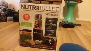 Nutribullet 1000w - 9 peice set Knoxfield Knox Area Preview