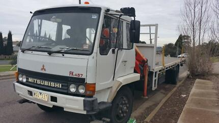 Mitsubishi FK457 Crane truck for sale Airport West Moonee Valley Preview