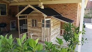 Grand Havana ACACIA HARDWOOD Kids Cubby House - Delivery Avail Kingswood Penrith Area Preview