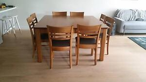 Dining Suite - Berkowitz Solid Timber Abbotsford Yarra Area Preview