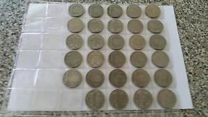 Half Crown coins Indian and NewZealand Waterford West Logan Area Preview