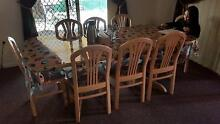 Dining table(Extendable) - 8 chair Clarkson Wanneroo Area Preview
