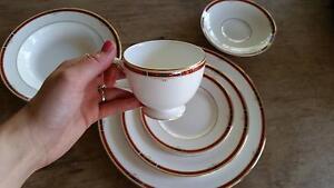 Wedgwood Bone China 6 piece dinnerware of six place setting, Gerroa Kiama Area Preview