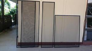Fly screens - custom made $5 each or $10 the lot (3) almost new Nightcliff Darwin City Preview