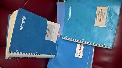 1 Tektronixscope Manual 7633r7633 422r422 465b 1st Printing Revised 83ver