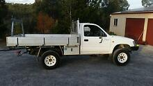 2001 Toyota Hilux 4x4 trayback - ideal work camp farm ute Parkes South Canberra Preview
