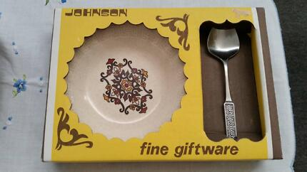 Johnson of Australia jam dish and spoon gift set Richmond Yarra Area Preview