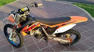 KTM 85SX 2014 Big Wheel 6 hours done since top and bottom rebuild Muswellbrook Area Preview