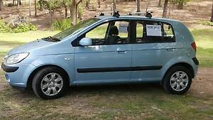 2006 Hyundai Getz Hatchback Lake Macquarie Area Preview