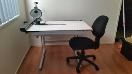 Architect Drawing table + Lamp + Chair Auburn Auburn Area Preview