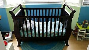 Baby Cot with Mattress Brighton-le-sands Rockdale Area Preview
