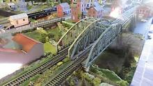 HO Scale Model Train Layout 3.7m long Everton Hills Brisbane North West Preview