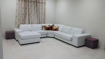 White 5 Seater, Only 1.5 Years old. Hendon Charles Sturt Area Preview
