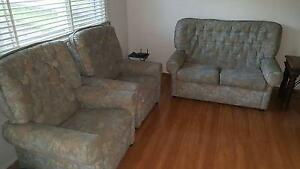 Fabric Sofas one  Two seater  and two single seaters recliners Pendle Hill Parramatta Area Preview