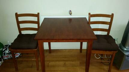 Small Kitchen Table and 2 chairs Fitzroy Yarra Area Preview