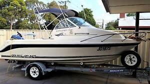 2002 Cruise Craft Explorer 500 16ft Fishing Boat Valley View Salisbury Area Preview