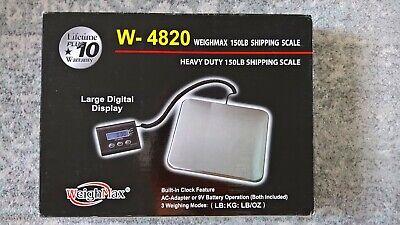 Weighmax W-4820 150lb Digital Shipping Scale