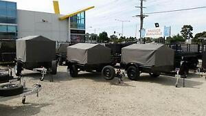 6X4 Box Trailer 750kg with 600mm high cage & canvas cover Narre Warren Casey Area Preview
