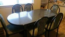 6 seater dining table Muswellbrook Muswellbrook Area Preview