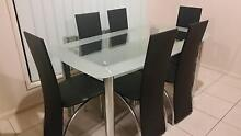 AS NEW - 6 Seat Dining Table and Chairs Upper Coomera Gold Coast North Preview