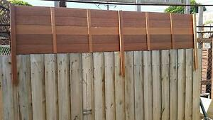 2400 X 500 Premium hardwood flat fence extensions (pool compliant Reservoir Darebin Area Preview