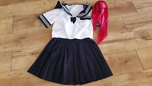 Japanese school costume size 8 Bulimba Brisbane South East Preview
