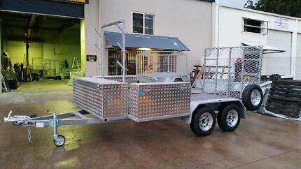 NEW CUSTOM MADE 3600 X 2000MM GAL MESH TRAILER Gympie Gympie Area Preview
