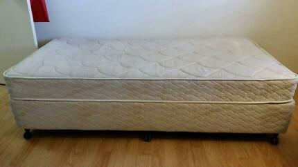 King single bed - King Koil by AH Beard - good condition Manly West Brisbane South East Preview