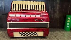 Red BaIle Italian Piano Accordian Mooroopna Shepparton City Preview